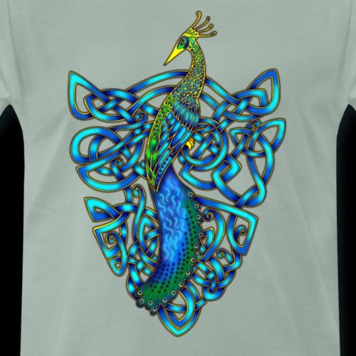 Peacock - Men's Premium T-Shirt