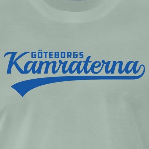 Göteborgskamraterna Blå - Premium-T-shirt herr
