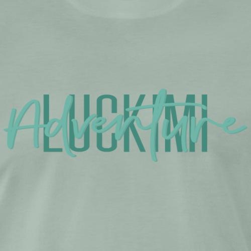 Luckimi Adventure - Premium-T-shirt herr