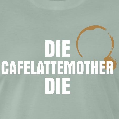 die cafelattemother curves - Premium-T-shirt herr