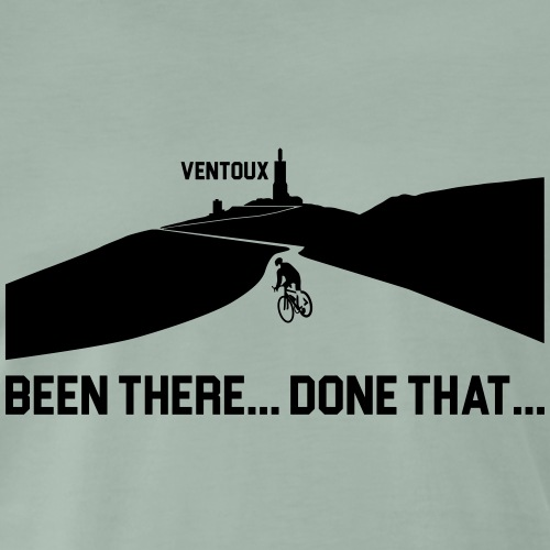 Mont Ventoux Been There Done That Cycling T-Shirt - Men's Premium T-Shirt