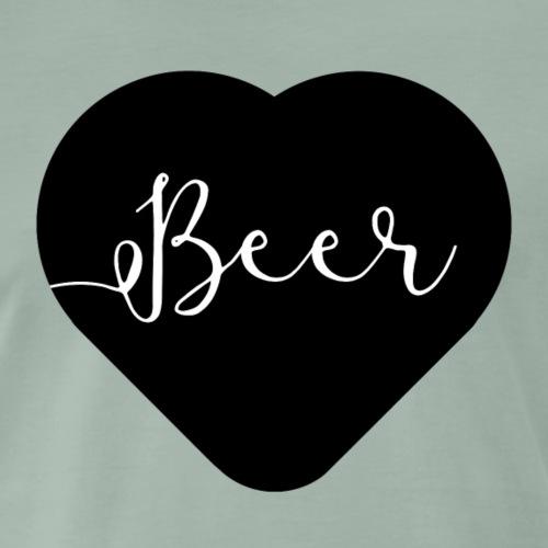 I love beer - T-shirt Premium Homme