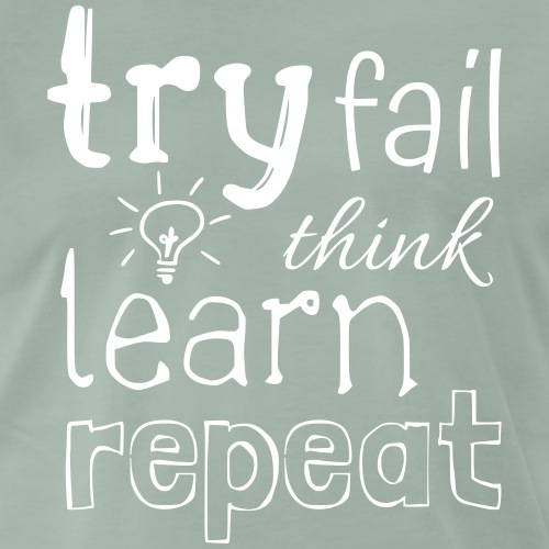 try fail think