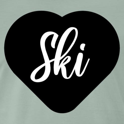 I love ski - T-shirt Premium Homme