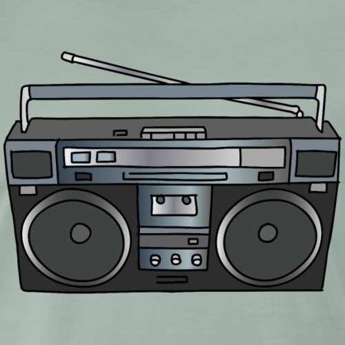 Ghettoblaster - Männer Premium T-Shirt