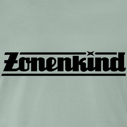 Zonenkind (nur Schriftzug) - Männer Premium T-Shirt