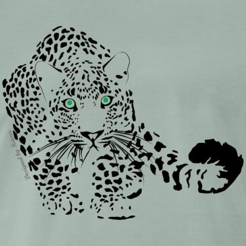 Leopard-1-2-1 color-F - T-shirt Premium Homme