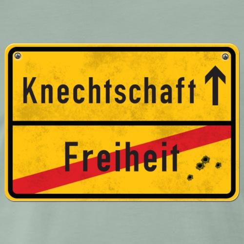 Der Weg zur Knechtschaft - T-shirt Premium Homme