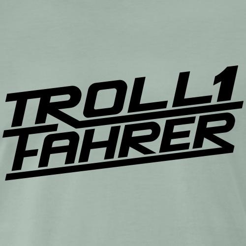 Trollifahrer Troll Fahrer Logo - Männer Premium T-Shirt