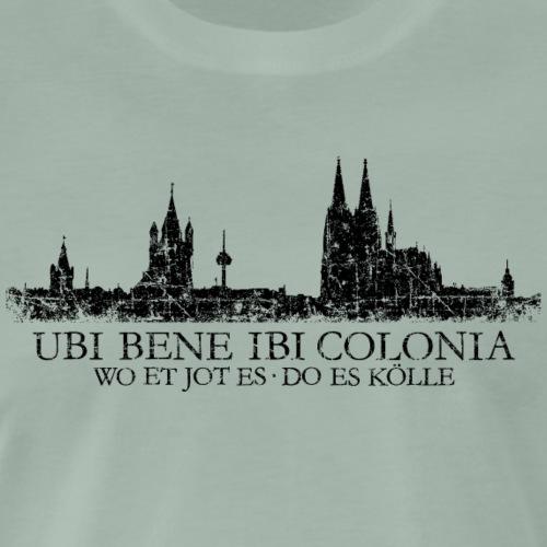 UBI BENE IBI COLONIA Kölner Skyline von Köln - Männer Premium T-Shirt