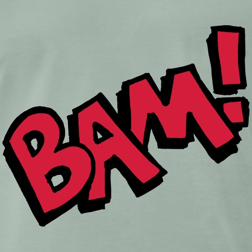 Bam! Comic Speech Bubble Funny police cadeau - T-shirt Premium Homme