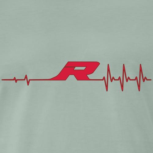 Puls R Rand - Männer Premium T-Shirt