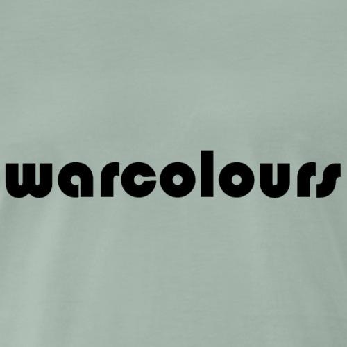 warcolours logo - Men's Premium T-Shirt