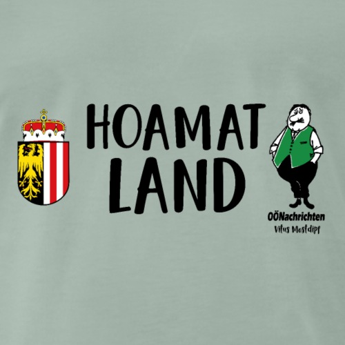 Hoamatland - Vitus Mostdipf - Männer Premium T-Shirt