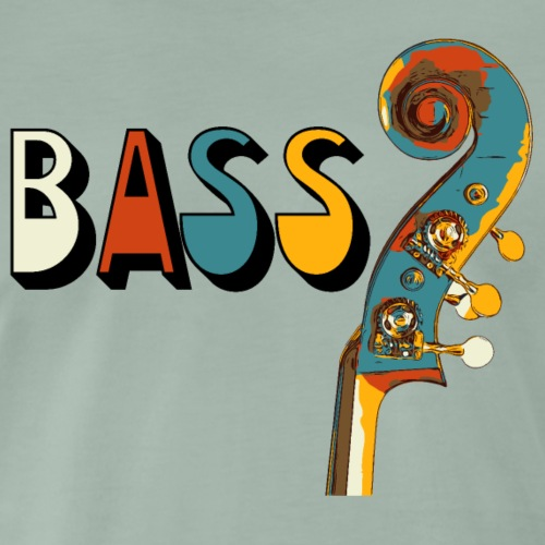 bassschnecke3 - Männer Premium T-Shirt