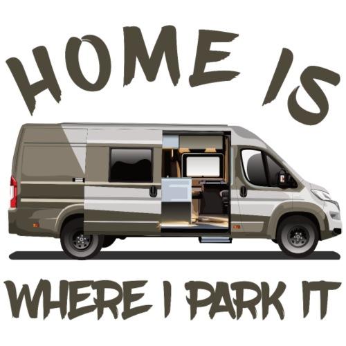 Home is where i park it - Männer Premium T-Shirt