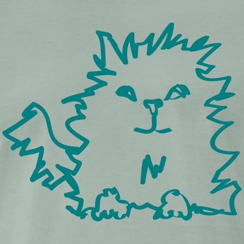 Bo cat - Men's Premium T-Shirt