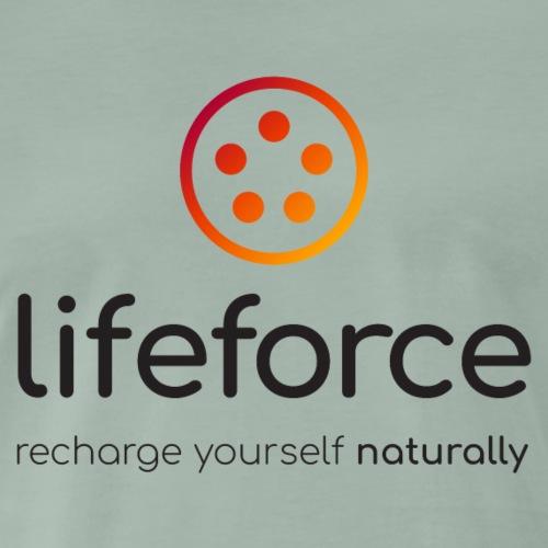 T shirt LifeForce Homme (logo noir) - T-shirt Premium Homme