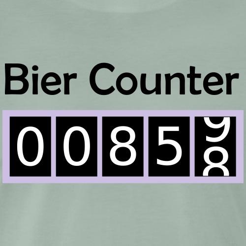 Biercounter / Bierzähler deutsch - Männer Premium T-Shirt