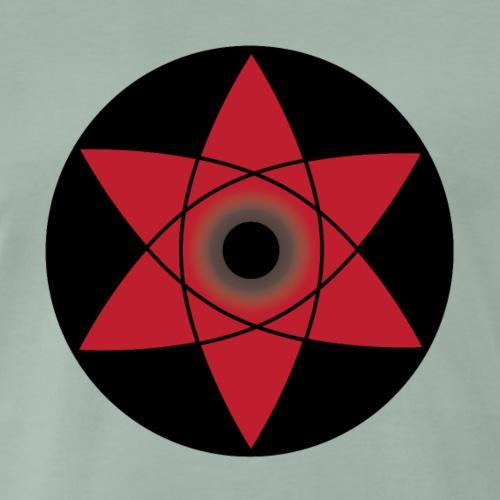 Sasuke Sharingan - T-shirt Premium Homme