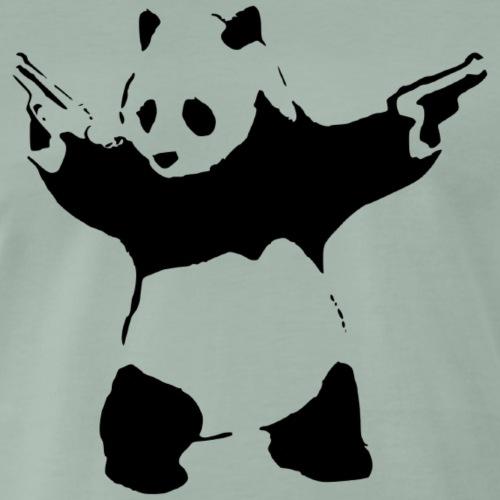 Panda armé - T-shirt Premium Homme