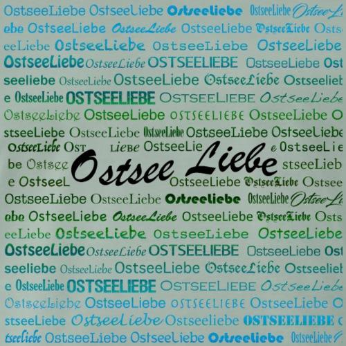 Ostseeliebe blaugrün - Männer Premium T-Shirt