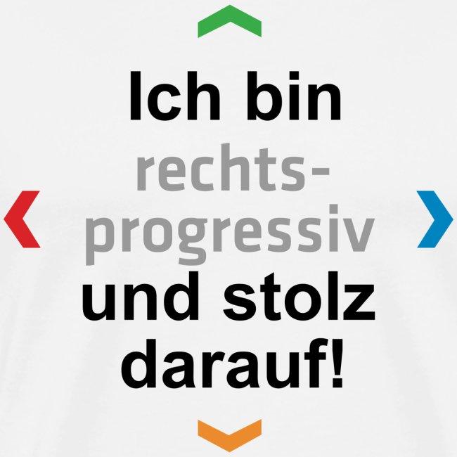 """""""Ich bin rechts-progressiv und stolz darauf"""""""