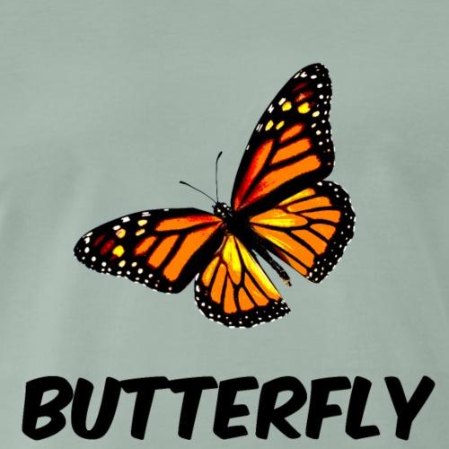 BUTTERFLY - Maglietta Premium da uomo