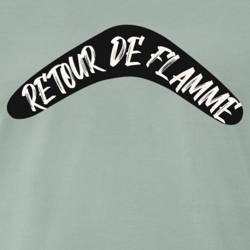Retour de flamme - T-shirt Premium Homme