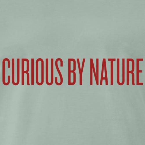 Curious by Nature - Männer Premium T-Shirt