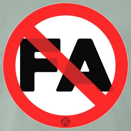 antifa - Maglietta Premium da uomo