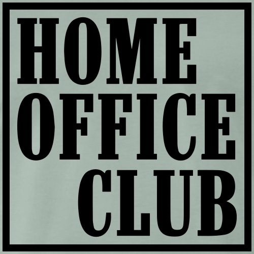 HomeOfficeClub - Männer Premium T-Shirt