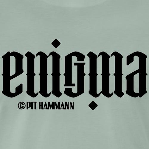 Ambigramm Enigma 01 Pit Hammann - Männer Premium T-Shirt