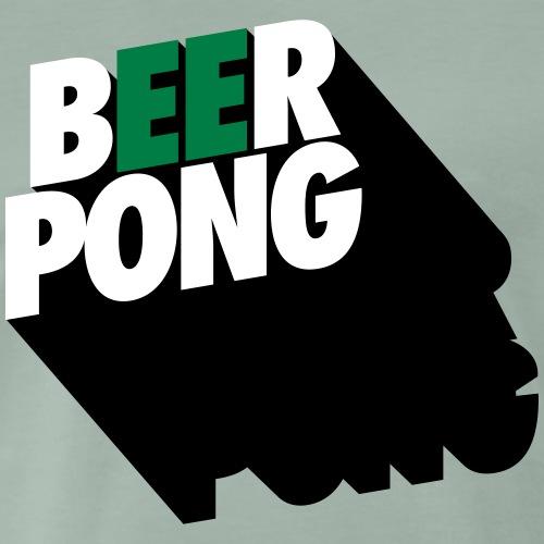 Beer Pong Vista - Männer Premium T-Shirt