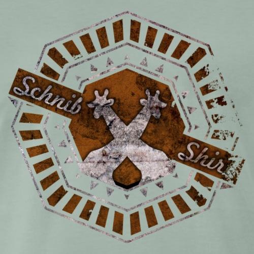 SchnibShirt Button - Männer Premium T-Shirt
