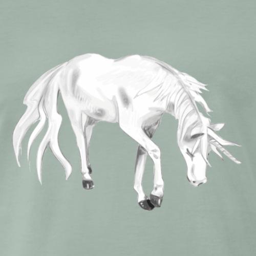Einhorn Motiv 8 - Männer Premium T-Shirt