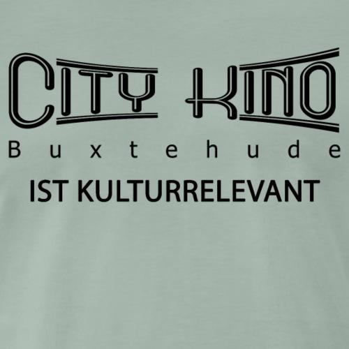 Kulturrelevant mit City Kino Logo - Männer Premium T-Shirt