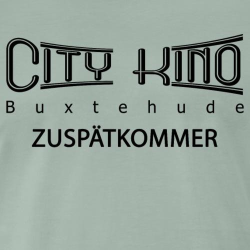 Zuspätkommer mit City Kino Logo - Männer Premium T-Shirt