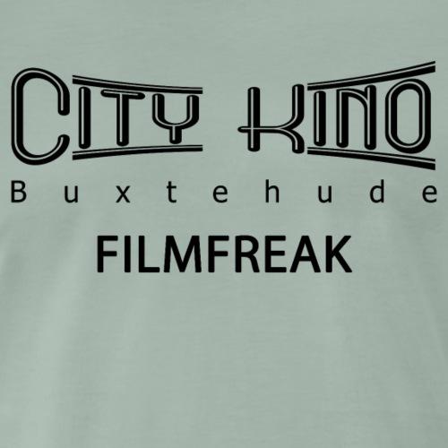 Filmfreak mit City Kino Logo - Männer Premium T-Shirt
