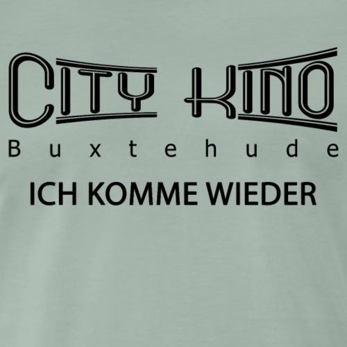 Ich komme Wieder mit City Kino Logo - Männer Premium T-Shirt