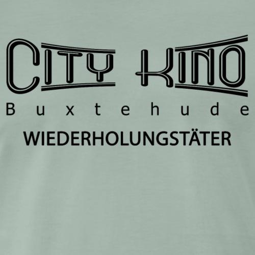 Wiederholungstäter mit City Kino Logo - Männer Premium T-Shirt