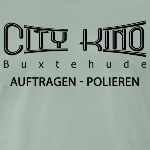 Auftragen - Polieren mit City Kino Logo - Männer Premium T-Shirt