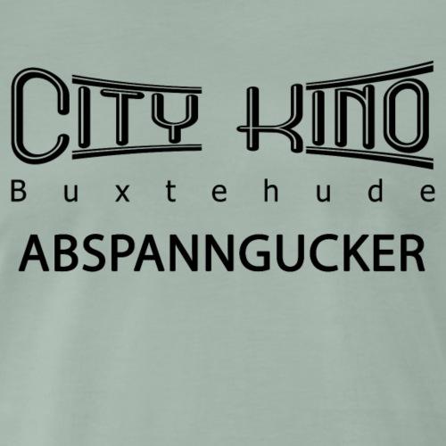 Abspanngucker mit City Kino Logo - Männer Premium T-Shirt