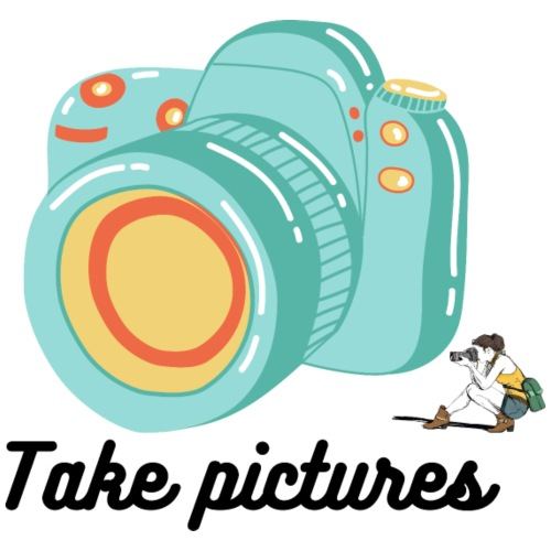 Take pictures - T-shirt Premium Homme