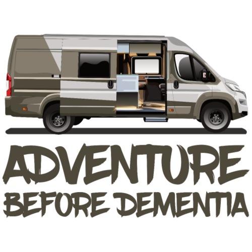 Adenture before Dementia - Männer Premium T-Shirt
