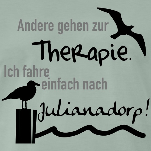 Therapie Julianadorp - Männer Premium T-Shirt
