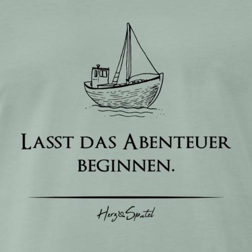 Examensshirt Abenteuer Berufsleben - Männer Premium T-Shirt