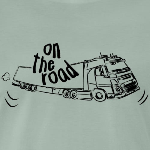 Camion ON THE ROAD - T-shirt Premium Homme