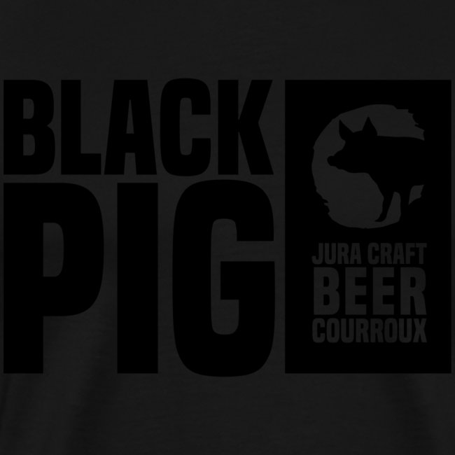 BlackPig Horizontal Noir