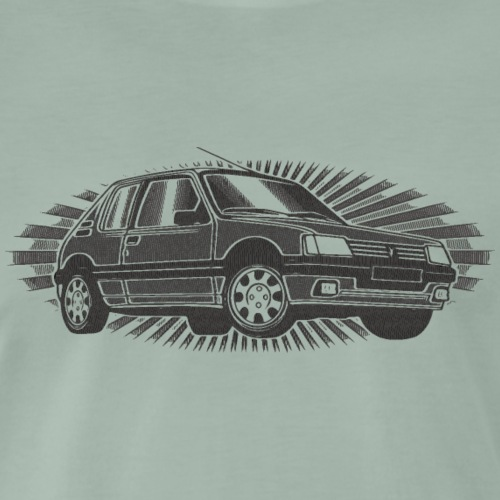 205 GTI vintage stamp - T-shirt Premium Homme